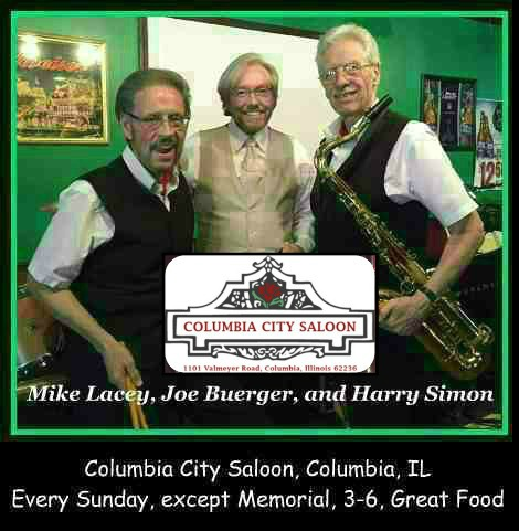 Mike Lacey, Joe Buerger, and Harry Simon Sunday