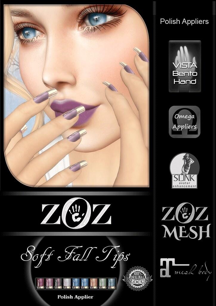 {ZOZ} Soft Fall Tips pix L