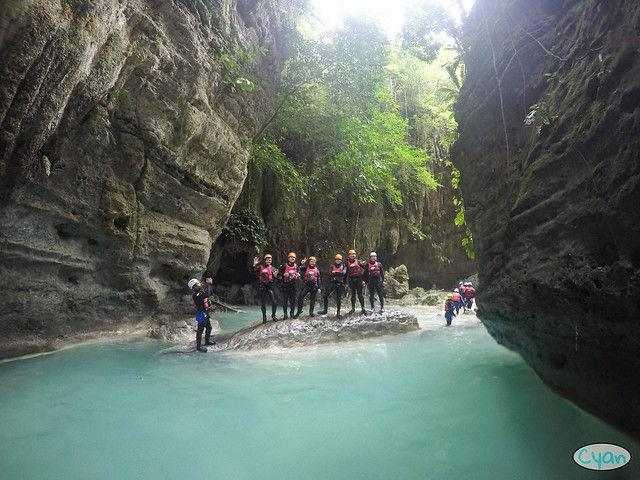 Patty Villegas - The Lifestyle Wanderer - Canyoneering - Badian - Cebu - Cyan Adventures-11