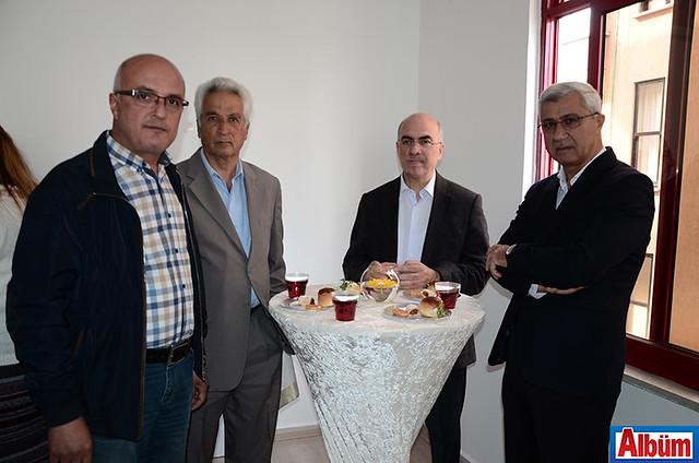 Ayhan Önal-Mehmet Özden-Alanya Müftüsü Mustafa Topal-Alanya Belediye Başkan Yardımcısı Mehmet Kula