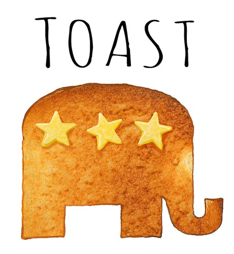 GOP 2018 toast