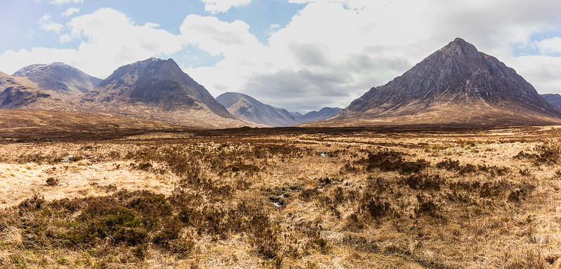 On the road between Loch Lomond and Glen Coe - Scotland 2017