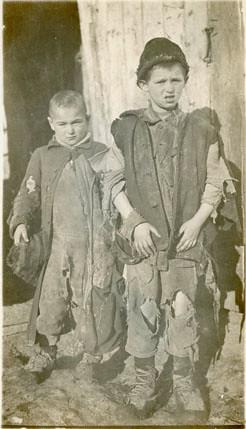 єврейські діти, які потребували допомоги, 1921 рік