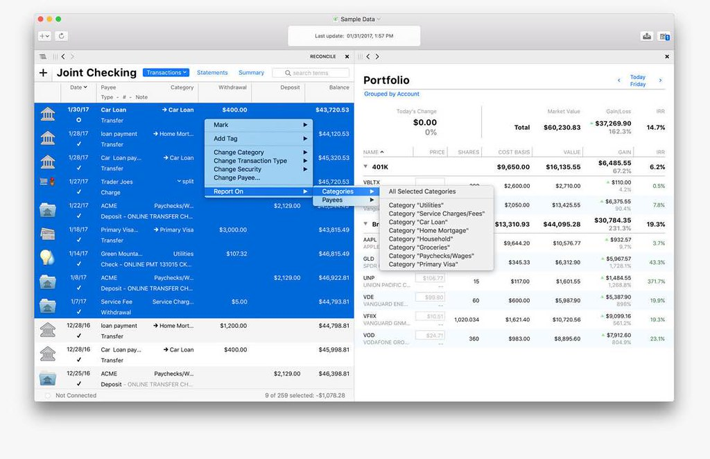 Banktivity 7 2 1 – Intuitive personal finance manager
