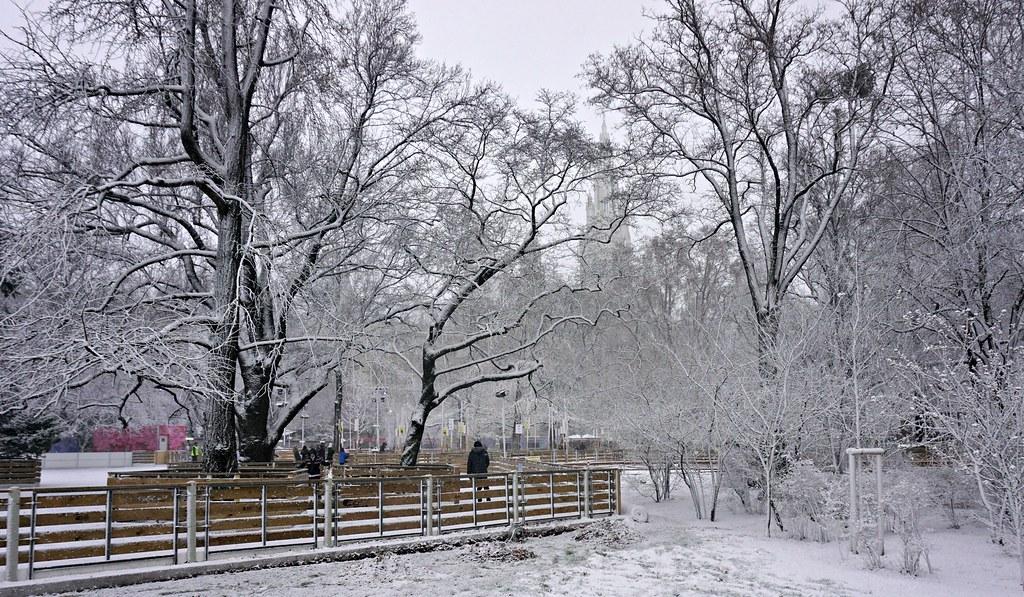 Wien winter wonderland