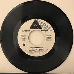GIL SCOTT-HERON:JOHANNESBURG(RECORD SIDE-B)