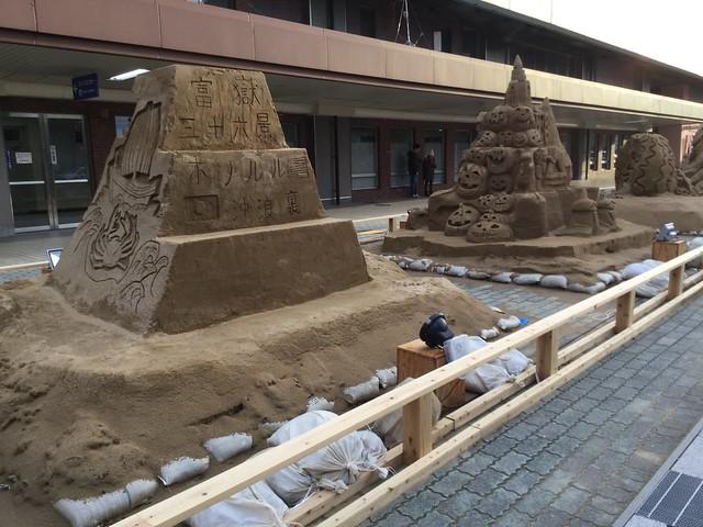 よくわからない砂アート
