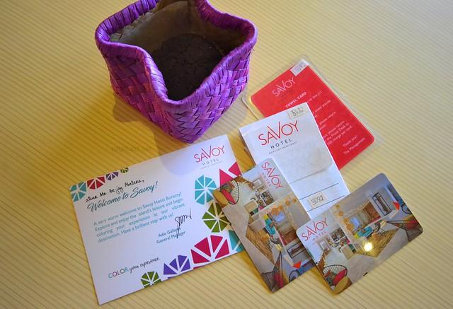 savoy hotel boracay cards