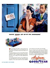GOOD YEAR Airfoam Mattresses - 1944