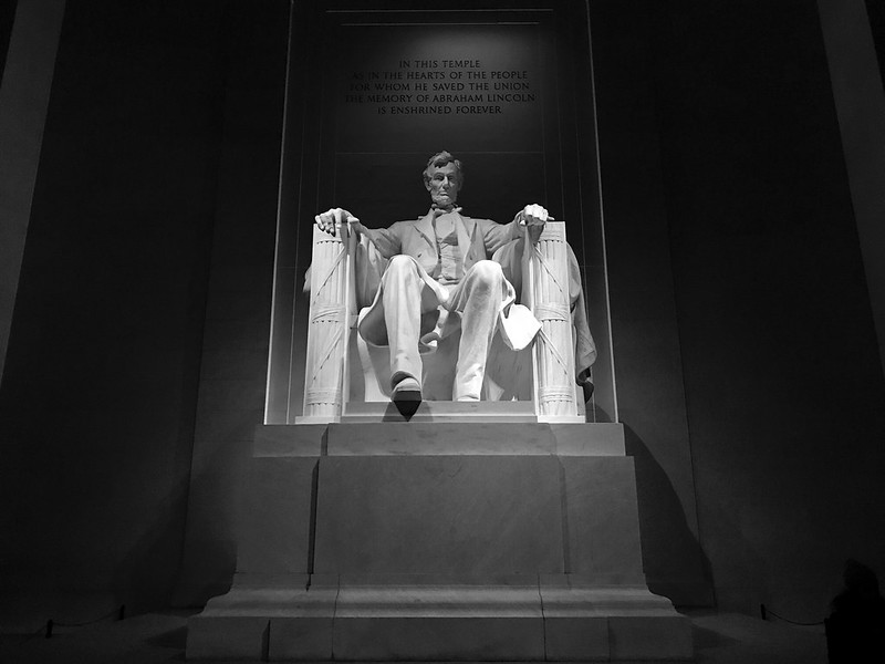 Lincoln weeps for the nation