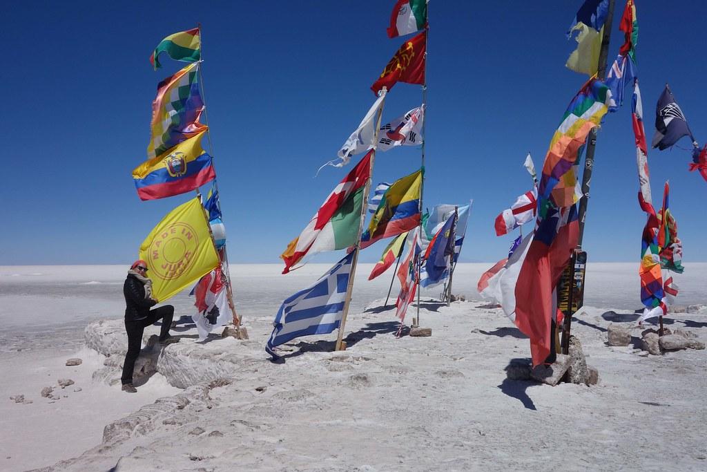 Uyuni - Salar - Flag 2
