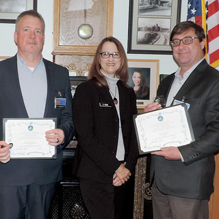 Warden Coins of Recognition awarded to Michigan providers