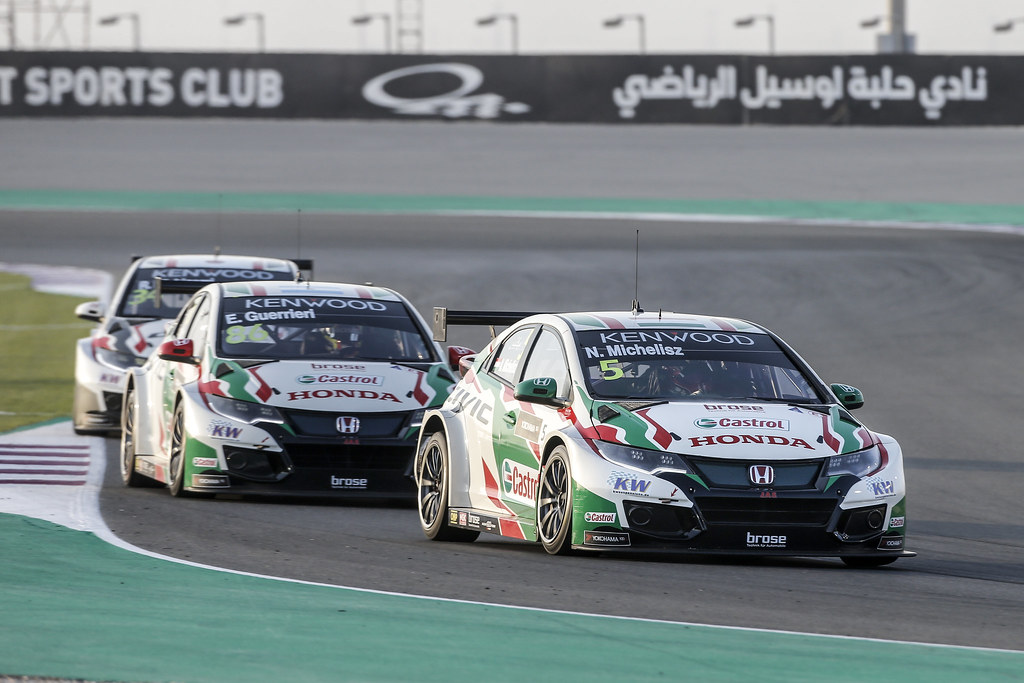 MAC 3 Honda team  during the 2017 FIA WTCC World Touring Car Championship race at Losail  from November 29 to december 01, Qatar - Photo Francois Flamand / DPPI