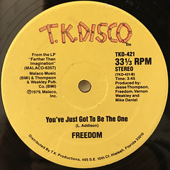 FREEDOM:GET UP AND DANCE(LABEL SIDE-B)