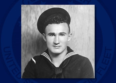 An undated file photo of Chief Boatswain's Mate Joseph L. George. (U.S. Navy/courtesy of the George Family)