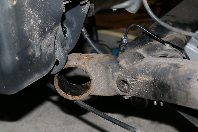 Rear Axle Beam Bushings Installation - TDIClub Forums