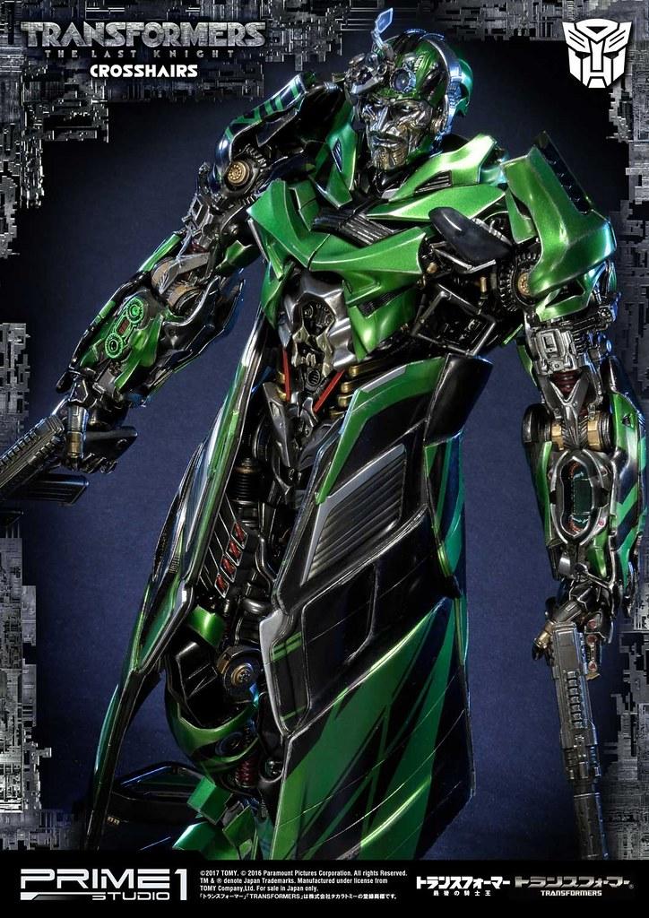 壞壞惹人愛的博派嘴砲王~Prime 1 Studio《變形金剛5:最終騎士》準星 Crosshairsトランスフォーマー/最後の騎士王  オートボット クロスヘアーズ MMTFM-19EX
