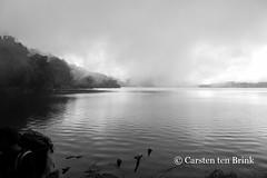 Lake Gunung Tujuh caldera lake