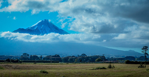 View of the Mount Taranaki