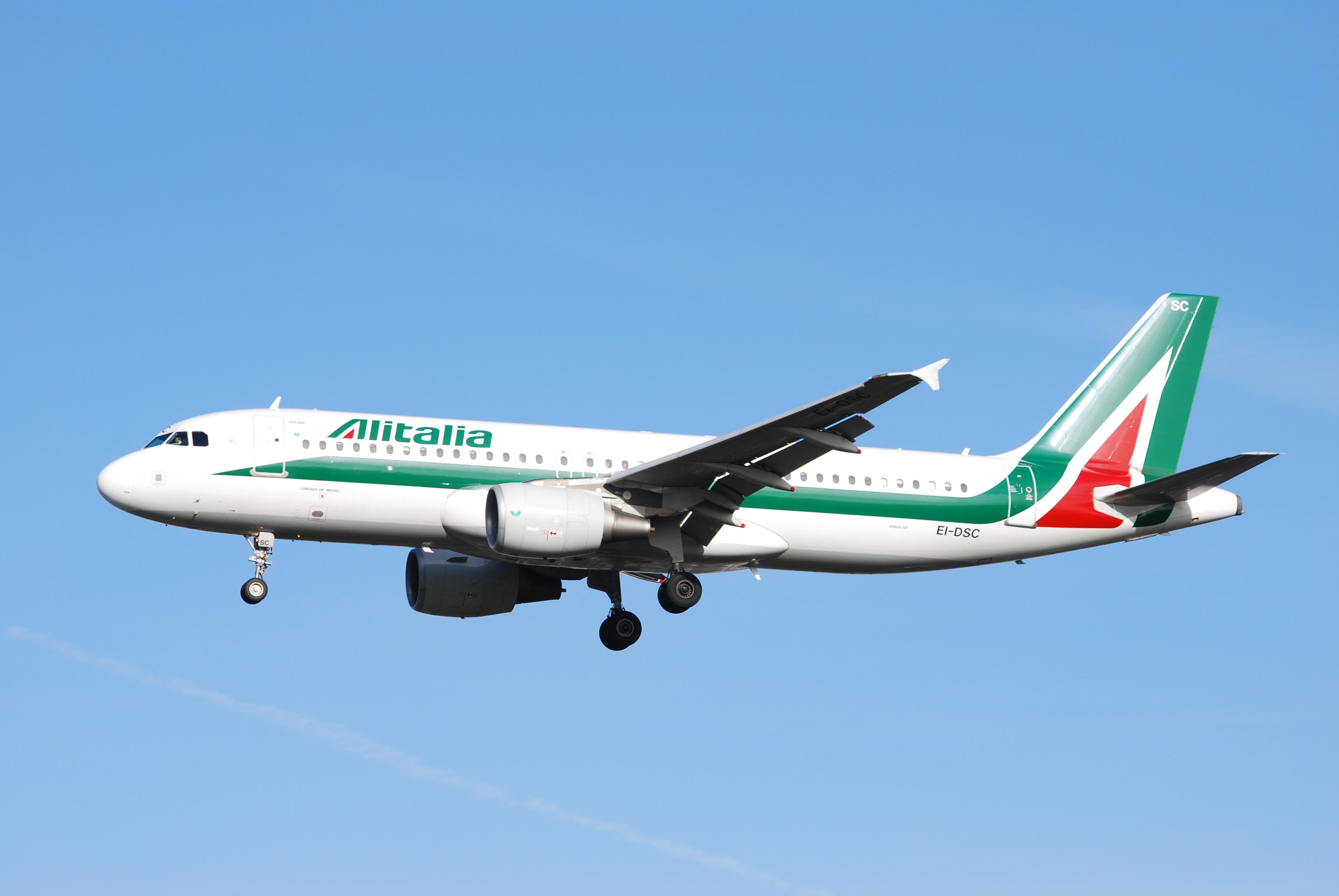 EI-DSC A320 Alitalia