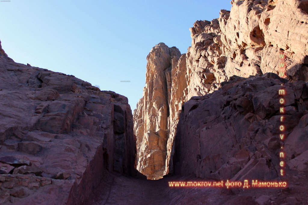 Синайские горы — Египт активный отдых с фотокамерой