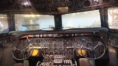 Douglas DC-7 Cockpit