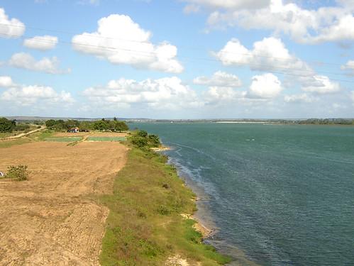 São Francisco River near Propriá, Sergipe