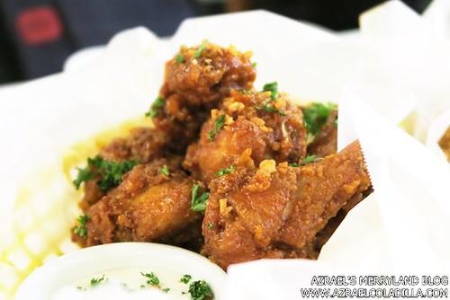 Shrimp Bucket - Buffalo Chicken Wings