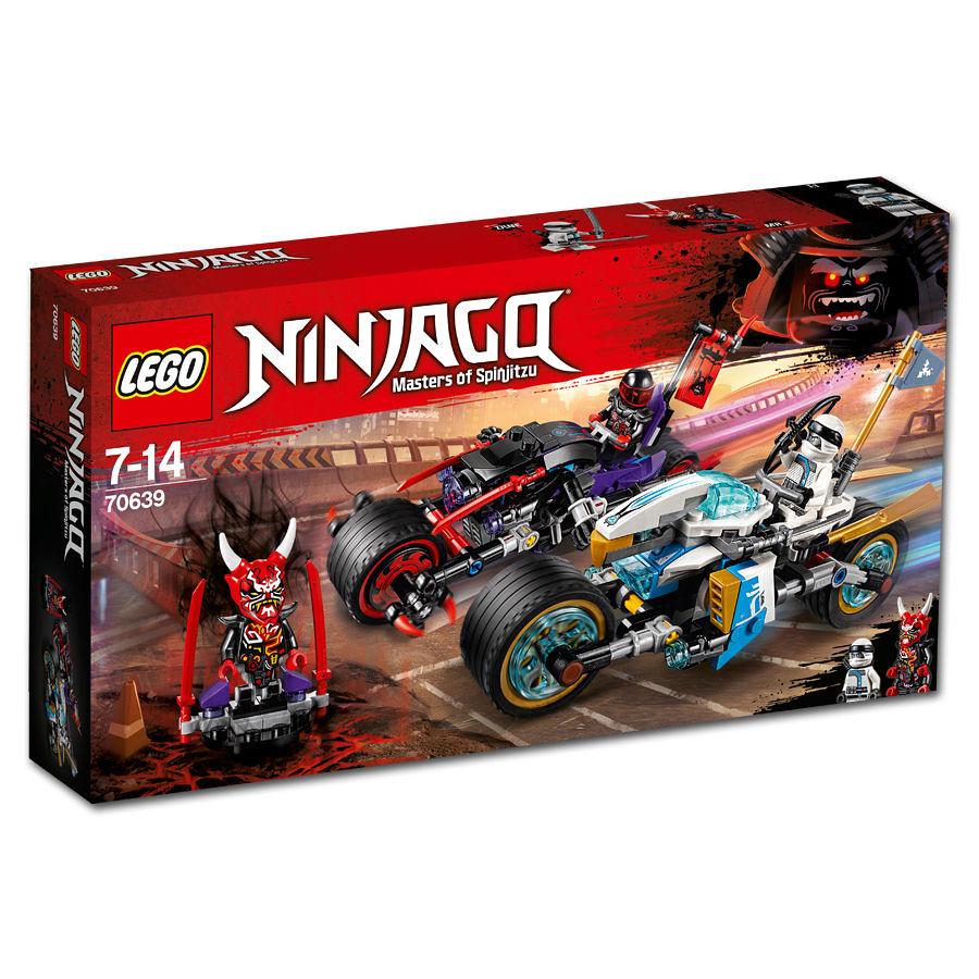 LEGO Ninjago 70639 - Street Race of Snake Jaguar
