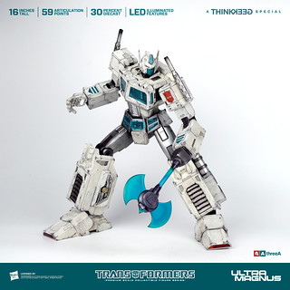 博派永遠的二哥~~ threeA 變形金剛G1 PSC系列【馬格斯】Transformers Generation One Ultra Magnus【ThinkGeek 限定】