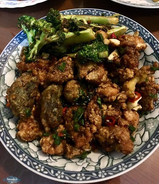 魚池麗鳳鹽酥雞