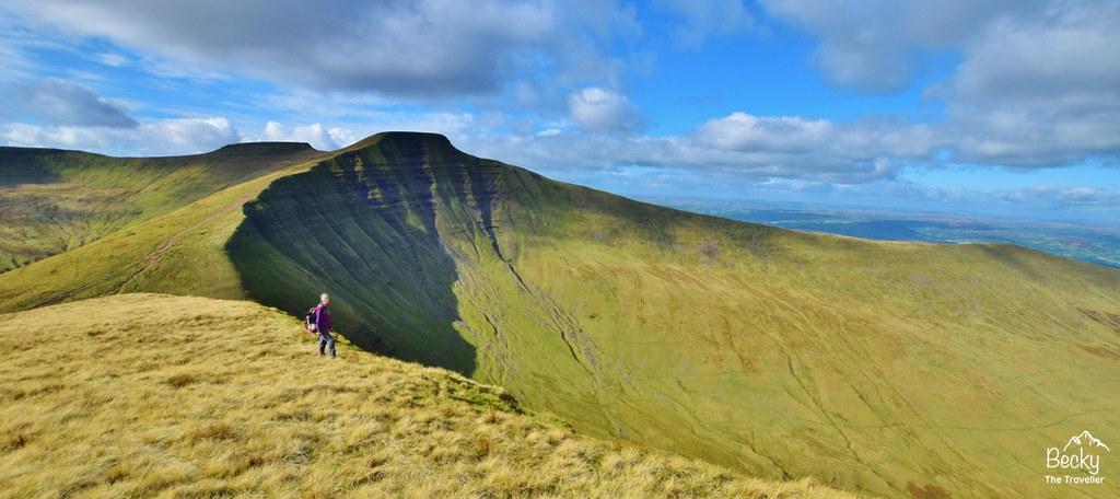 Pen y Fan hike - Brecon Beacons National Park