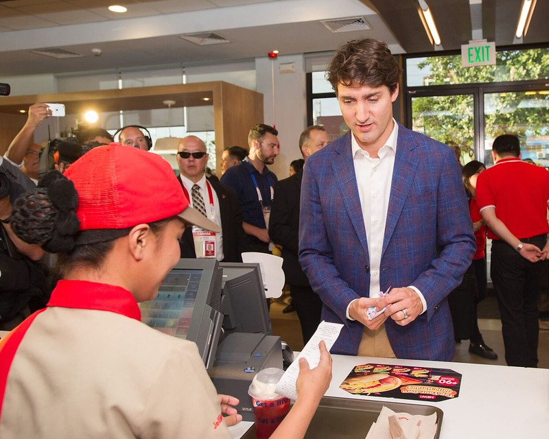 PM Trudeau at JB 5