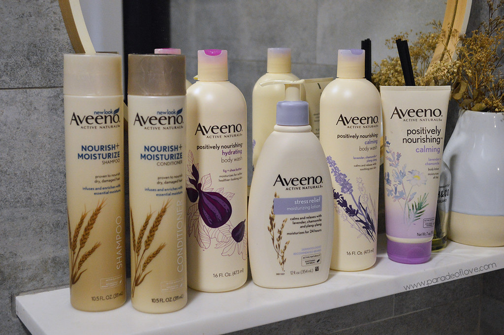 Destress & bask in ultimate relaxation day & night with AVEENO®'s Hair & Body Care: Review