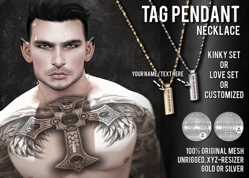 !NFINITY Tag Pendant Necklace Promo AD