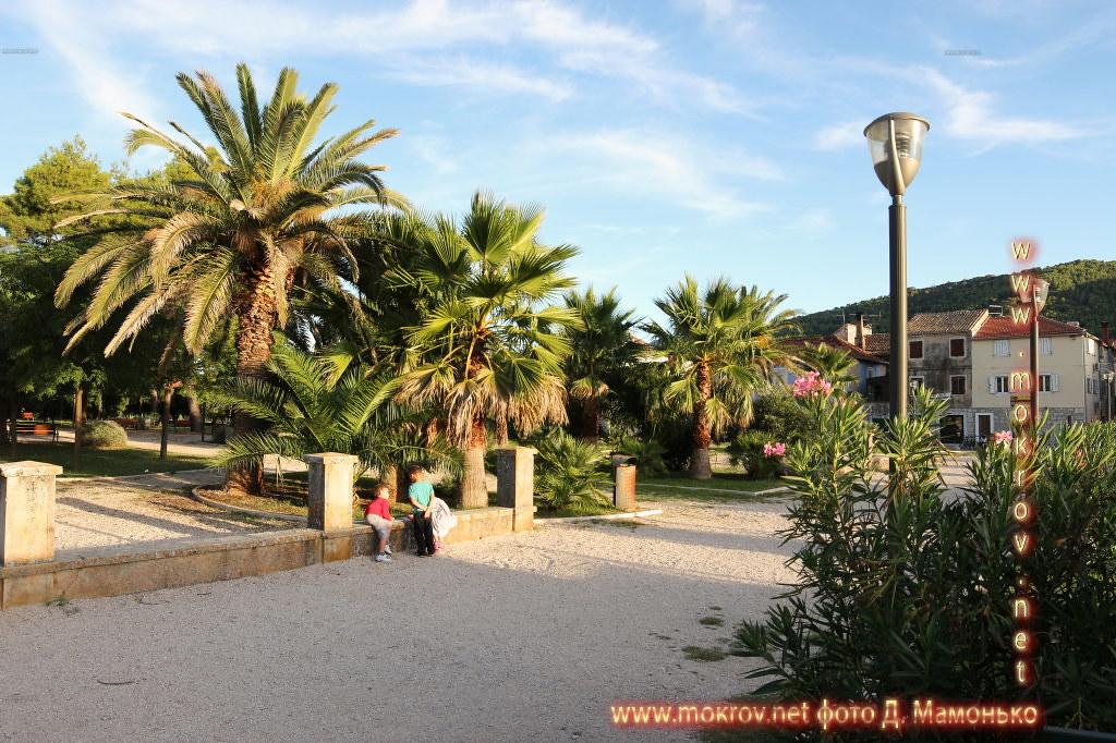 Хвар — остров в Адриатическом море, в южной части Хорватии живописные фотоискусства
