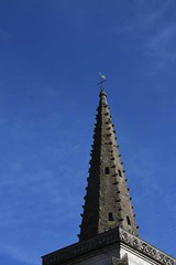 Church steeple, Boubers-sur-Canche