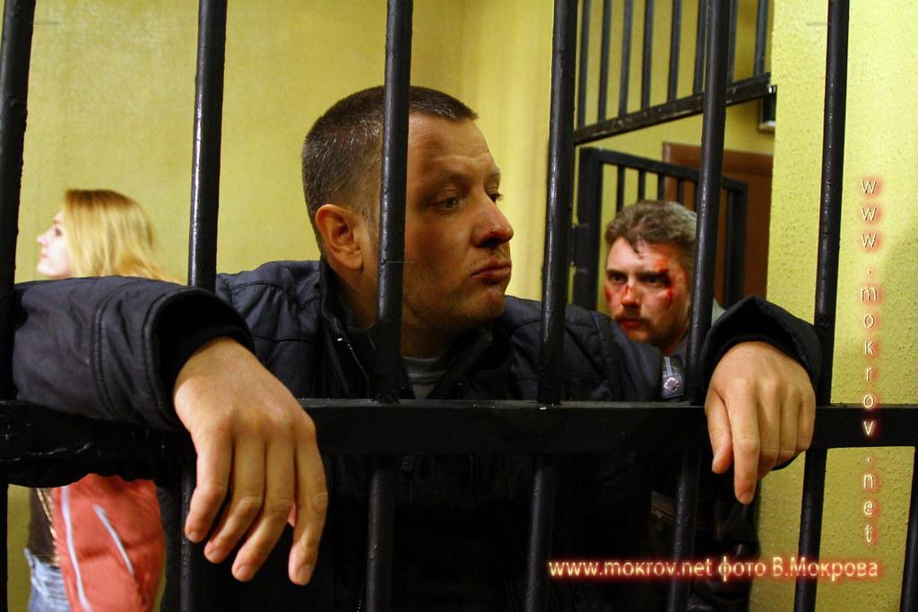 На съемках Телесериал «Карпов. Сезон третий» в Фотоискусстве