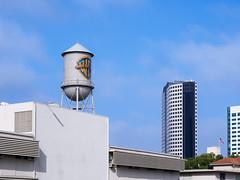 Warner Bros water tower