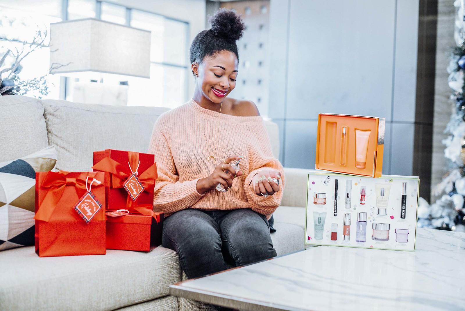 dallas beauty blogger, Christmas beauty gift set