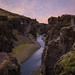 Fjadrardljufur Canyon in Iceland by pictcorrect