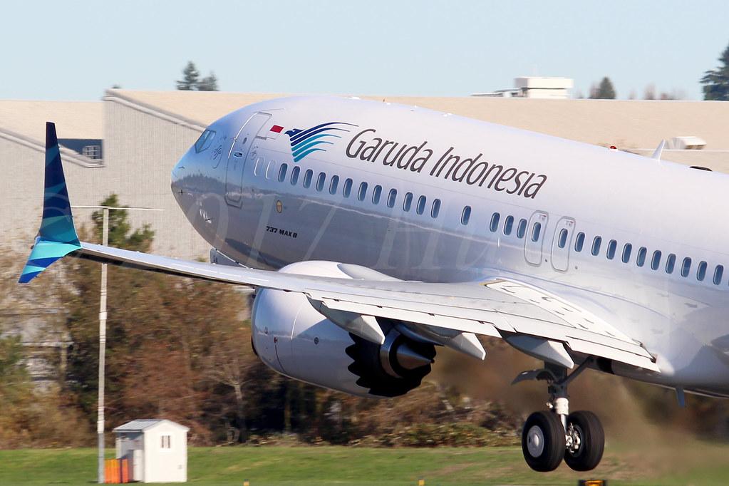 Boeing 737 MAX 8 Garuda Indonesia PK-GDA LN6713