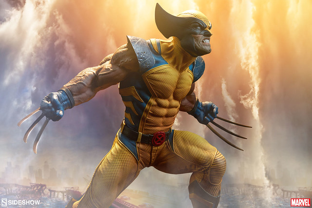 狼叔魄力的極致展現!!Sideshow Collectibles Premium Format™ Figure 系列【金鋼狼】Wolverine 1/4 比例全身雕像作品