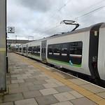 Bescot Stadium Station - London Midland 323212 and 170 504 - HD video clip