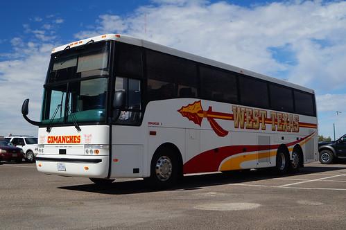 West Texas Comanches Van Hool T2140 #Comanche 2