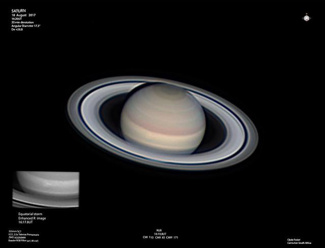 Saturn 18082017 1620UT RGB C Foster