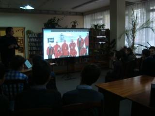 Зустріч з полярниками. 14.11.17. ім. К. Чуковського