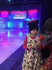 Ezri at Disney On Ice: Follow Your Heart
