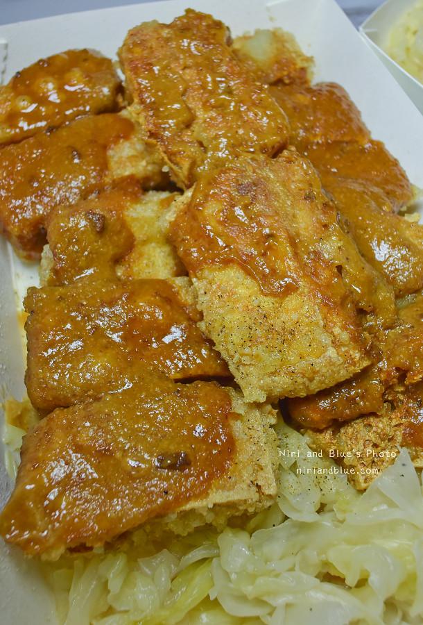 台中素食臭豆腐向上黃昏菜市場美食01