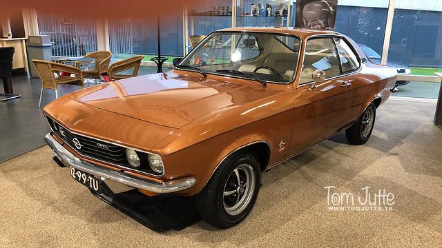 Opel Manta 1972, Zutphen, Netherlands - 0273